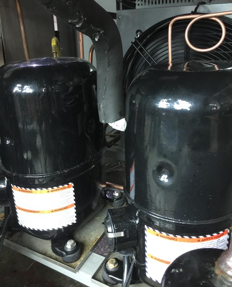 步入式高低温试验室制冷系统