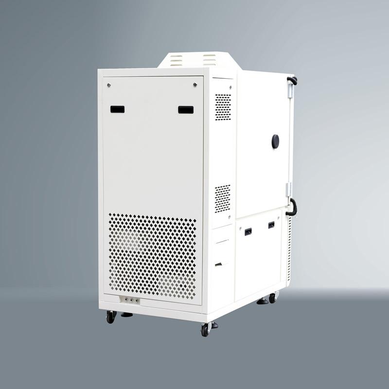 高低温老化试验机背面