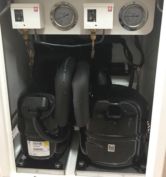 大型cc国际网投登录采用原装进口制冷系统