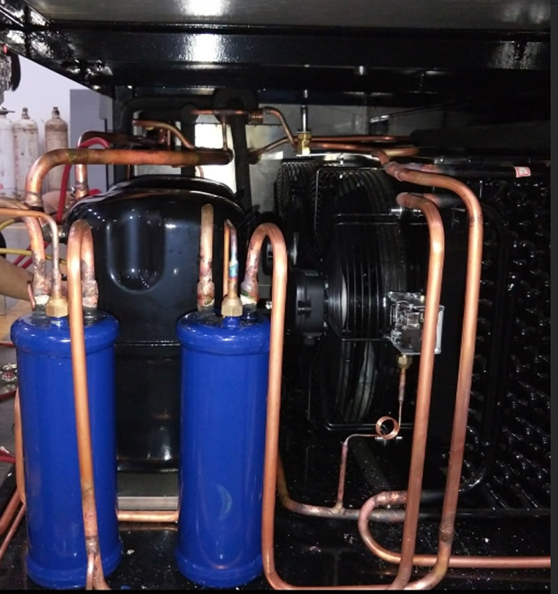 恒温恒湿测试箱冷冻系统