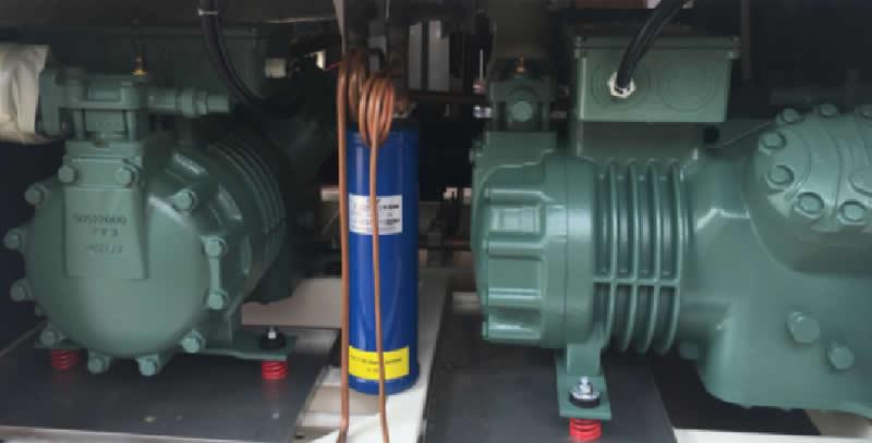快速温变循环试验箱制冷系统