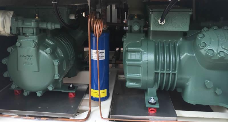 高低温快速温变试验箱冷冻系统