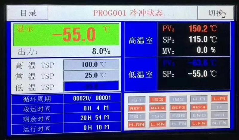 温度冲击试验箱控制器