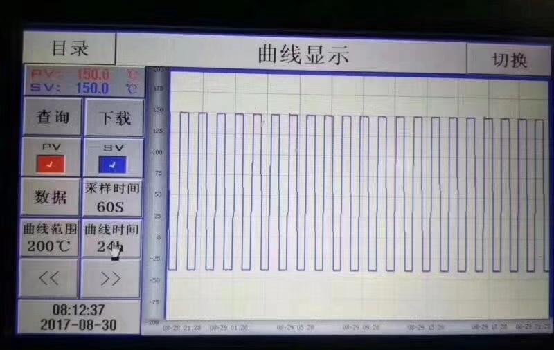 两槽式高低温冲击试验箱曲线