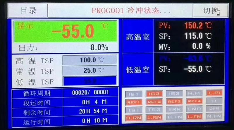 可程式冷热冲击试验箱