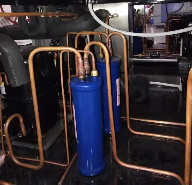 两槽式高低温冲击试验箱制冷系统