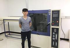 淋雨试验箱和六度一体机振动台顺利通过天津客户验收