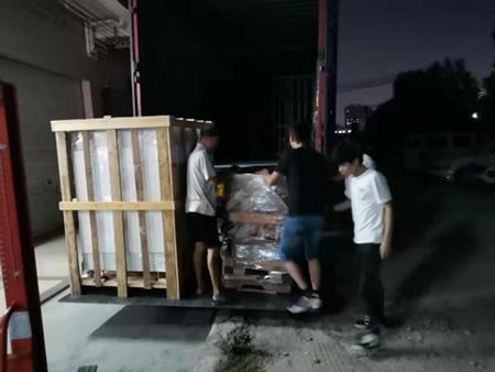 高温老化箱装车