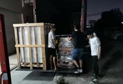 两台高温老化箱送货河北保定与廊坊
