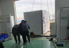 天津易鼎丰动力购买非标步入式高低温箱
