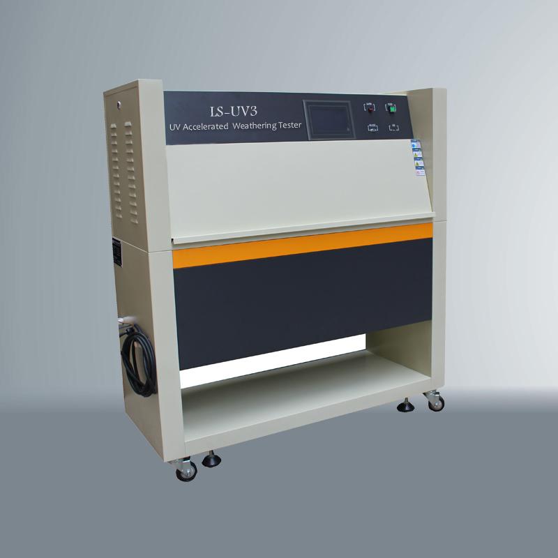 UV光老化试验箱侧面图
